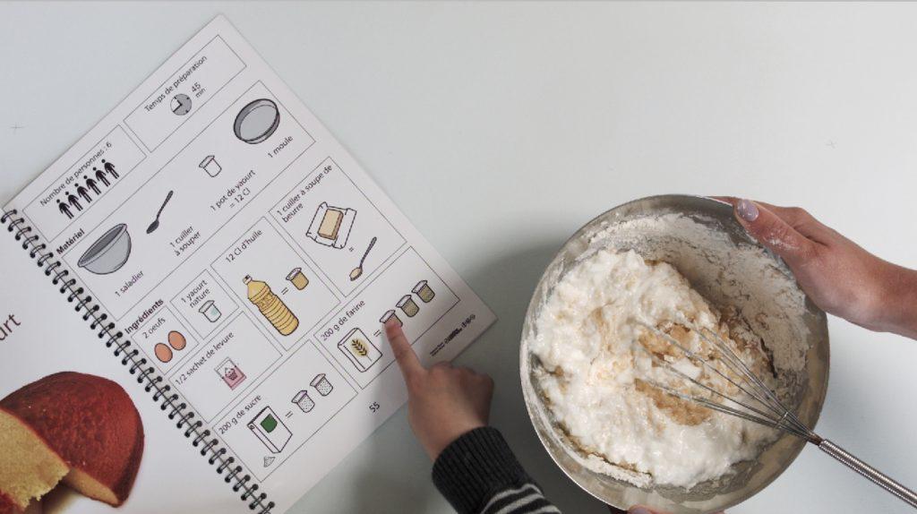 Livre de cuisine accessible La Cuisine Pour tous !