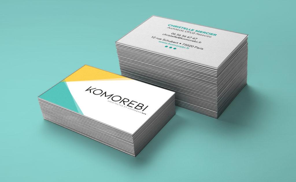 Cartes de visite de Komorebi