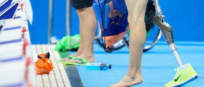 Athlètes des jeux paralympiques en situation de handicap moteur