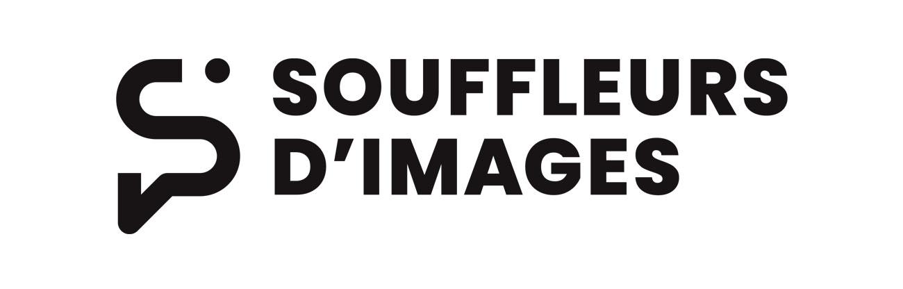 Logo des Souffleurs d'images en lettres capitales noires